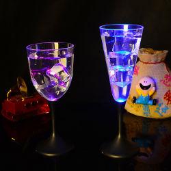 أكواب LED وامضة تضيء أكواب الجعة البلاستيكية LED