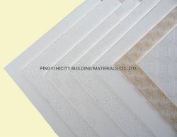 La Chine plus haute qualité plaques de plâtre en PVC/faux plafond en plâtre/plaques de plâtre laminé PVC/High-Strength dalle de plafond en plâtre/Placoplâtre/dalle de plafond en plâtre