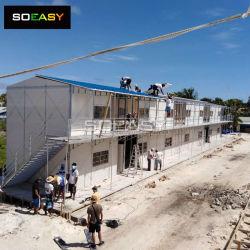 Piscina de alta qualidade de construção rápida Modular temporário trabalhador prefabricados Camp