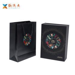 De gama alta Collasiple personalizada Regalo magnético vino Bolso caja plegable