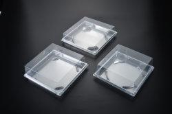 Food Grade Custom упаковка прямоугольные прозрачной пластиковой упаковки с крышки багажника торт Упаковка Коробки контейнер для упаковки продуктов питания в салоне