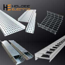 Heavy Duty/ventilée en aluminium souple perforé de goulottes Panier Support de montage électrique de l'échelle de Wire Mesh panier de la Chine les fabricants de câbles