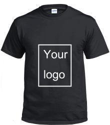 L'abitudine di Gildan/ha personalizzato semplicemente/spazio in bianco/stampa/il cotone 100% dell'abito/uomo poliestere/del bambù/maglietta all'ingrosso stampati dei vestiti/vestiti di modo degli uomini