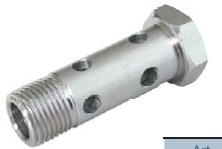 Hydraulikschlauch-Kugel- und Schraubenverbindung aus Kohlenstoffstahl