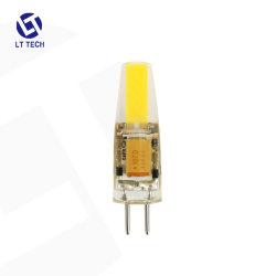 Lt104A1 G4 de silicona Hotsell bombilla LED blanco cálido 2700K AC DC12V 2W (20W Bombilla halógena) Bi-Pin equivalente de la base de las luces de lámparas de maíz