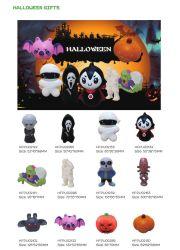 Groothandel Speelgoed Halloween Giften PU Stress items Stress Ball Juguetes Gadgets voor grappige partij