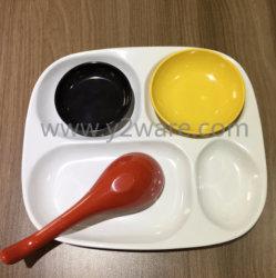 Louça de Grau Alimentício Non-Disposable biodegradáveis forquilha para sobremesa jantar set 010