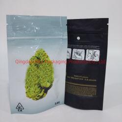 La prova personalizzata Sative dell'odore lascia a Weed medico l'imballaggio di plastica della stagnola