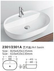 Salle de bains moderne conception idéale du Grand Bassin de la céramique