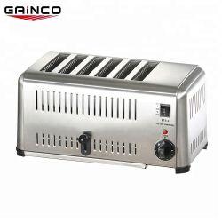 2.5Kw grille-pain 6 Slice-Pop jusqu'/grille-pain en acier inoxydable
