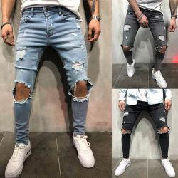 Barato al por mayor de moda ropa de diseñador personalizado Mans Denim Jeans