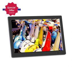 9월 저렴한 가격에는 12인치 자동 재생 비디오 디지털 사진 프레임 지원 FHD 1080p 비디오가 제공됩니다