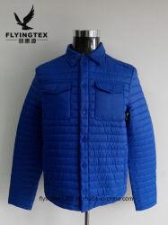 Nouveau design de mode de rembourrage des hommes de l'hiver Veste imperméable