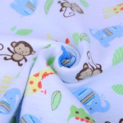 Boa qualidade de algodão Eco-Friendly sarjado de impressão de tecido de algodão Imprimir Kids pijamas