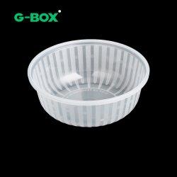 Gran capacidad de grado alimentario resistente Contenedor de Comida de plástico PP Bento Box 1.3L