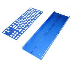 Maquinagem CNC de rotação personalizada em alumínio peça de fresagem maquinada CNC para Teclado em alumínio