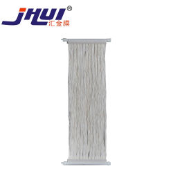La conception de rideau de fibres creuses membrane PVDF MBR pour système de traitement des eaux usées