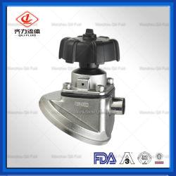 Нержавеющая сталь 316L Dn40 нижней части бака мембранный клапан санитарных