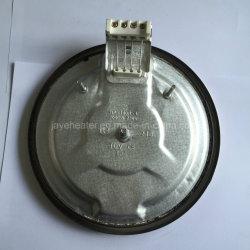 Placa de aquecimento eléctrica sólido de ferro fundido para aparelho de cozinha de forno
