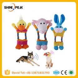 Gepiep van het Speelgoed van de Hond van de pluche kauwt het Grappige Holle Interactieve Correcte uit de Goederen van het Stuk speelgoed voor de Producten van de Kat van het Puppy van de Dieren van Huisdieren voor Honden