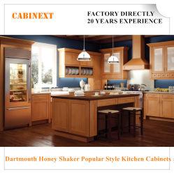 Dartmouth Miel Shaker gabinetes de cocina Muebles de estilo popular Flat Pack