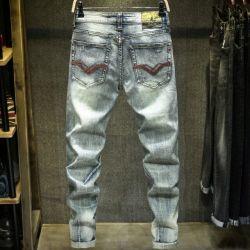 2020 o designer de moda Custom/logotipo personalizado/Label/Marca Fashion Esticar/extraído homens/rapaz por grosso/Stock/Granel/calças de ganga/calça jeans/