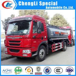FAW 10톤 케미칼 리퀴드 탱크 트럭(판매용