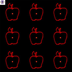 OEM-производитель Китай Apple один красный характеристика качества лазерной печати скрип объектив диск