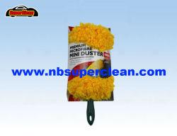 Stofdoek van de Veer van de Auto van de Kleur van Microfiber het Gele (CN1113)