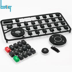 Knopen van het Toetsenbord/van het Toetsenbord van het Silicone van PC de Rubber met Plastic Dekking