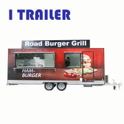 La Chine à chaud Alimentation de Rue de vente Panier camion alimentaire Scooter avec équipements de cuisine