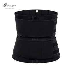 S-Shaper Support réglable OEM serré la ceinture de conditionnement physique pour les femmes de néoprène Sauna Spa la sangle de modélisation Cincher gaines Ceinture Shapewear minceur