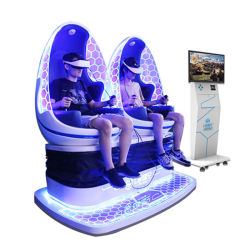 La réalité virtuelle interactive de l'équipement de divertissement 9D VR Cinéma d'oeufs