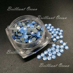 Синий Опал Super Premium стекло исправление стразами для одежды аксессуары