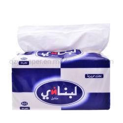 Custom Soft Pack Tecido Facial Branco 2sulcar 3sulcar 100% virgem de polpa de madeira Material 600 Folhas 800 folhas de papel tissue
