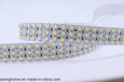 Alta SMD luminosa3528 10mm/12mm placa PCB 240os LEDs 3 linhas LED de iluminação de LED de luz da faixa de aquário