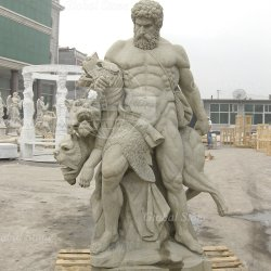 Famosas estatuas de mármol romano al hombre a la venta (SSG-121)