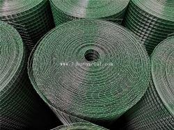 """1/2"""" X 1/2"""" Groen PVC gelast draad Gaas/gelaste draad/Electro gegalvaniseerd Gelaste netten van ijzer en ijzer"""