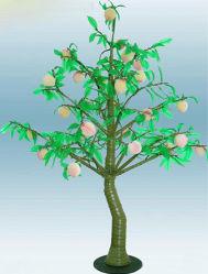 옥외 정원 훈장을%s LED 인공적인 과일에 의하여 점화되는 나무