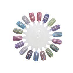Commerce de gros de haut grade Glitter colorés Chameleon Glitter Sparkle poudre Laser pour nail art