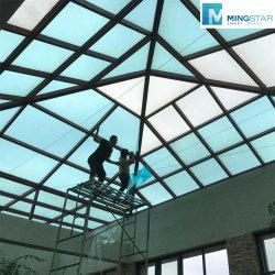 100% anti-UV+IR bajo-R de aislamiento térmico de construcción laminada de vidrio para muro cortina