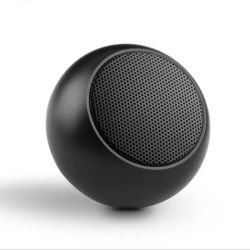 Dom Metal portátil estéreo sem fios Promocional Mini colunas Bluetooth