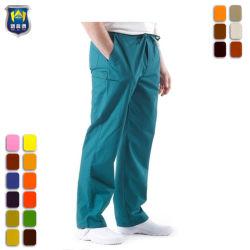 Medizinische das Baumwoll-Polyester-gerade Bein scheuern Ladung-Hosen