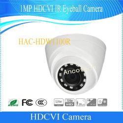 IR Hdcvi Dahua 1MP Eyeball CCD Caméra Vidéo Numérique (HAC-HDW1100R)