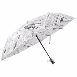 23 polegadas 8K costelas abrir automaticamente a três guarda-chuva dobrável