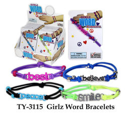 Забавная игрушка Girlz слово браслет