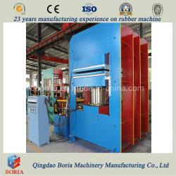El bastidor de la placa Man-Sized alfombrilla de goma vulcanización Pulse/máquina hidráulica