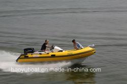 Лодка Haoyu 4m жесткие надувные лодки ребра390c PVC или Hypalon тканей с маркировкой CE рыболовного судна