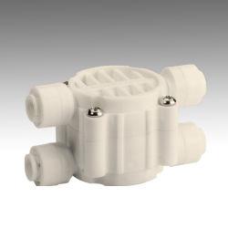 Quatro Vias de plástico do sistema de água de osmose inversa da válvula de desligamento automático