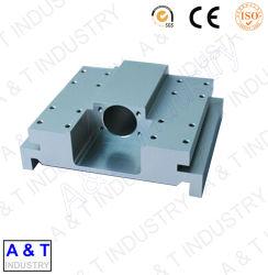 Cnc-zerteilt kundenspezifische Präzisions-Maschine CNC maschinell bearbeitete Teil-Aluminium-Unterseite